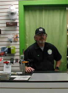 ron at counter